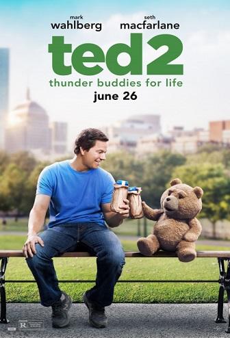 Tedis 2 / Ted 2 (2015) [DVDRip LT] Komedija