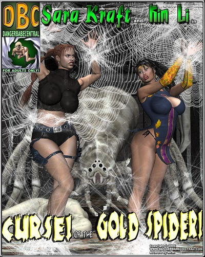 Dangerbabecentral -  Sara Kraft and Kim Li in Curse of the Gold Spider