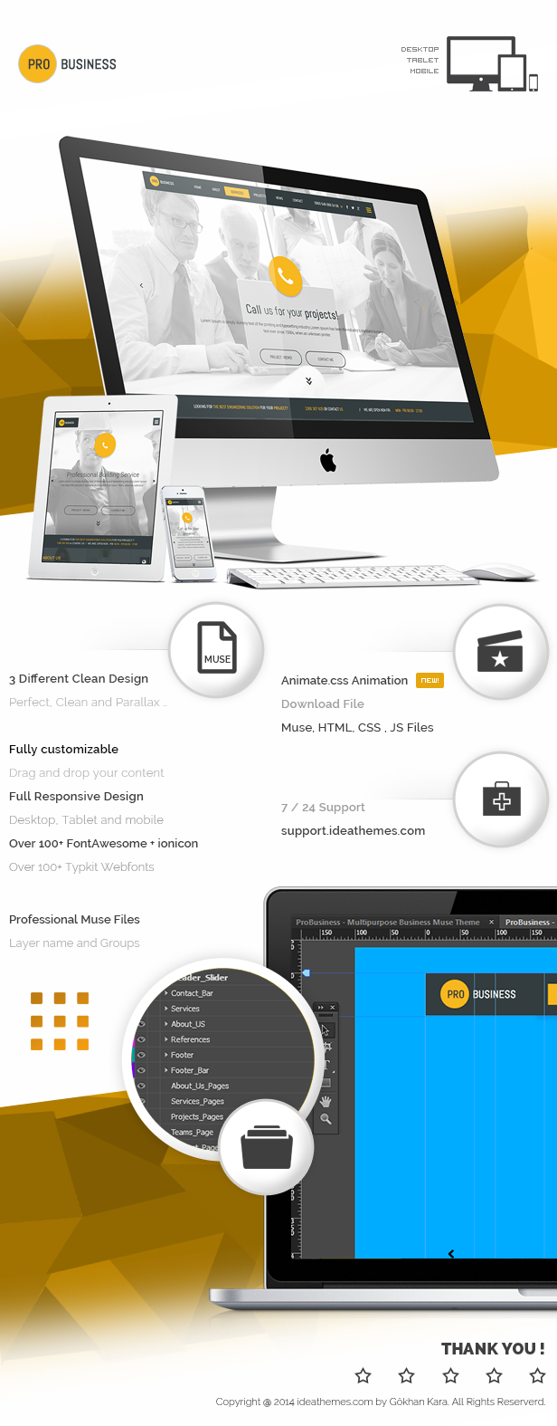 ProBusiness - Multipurpose Business Muse Theme