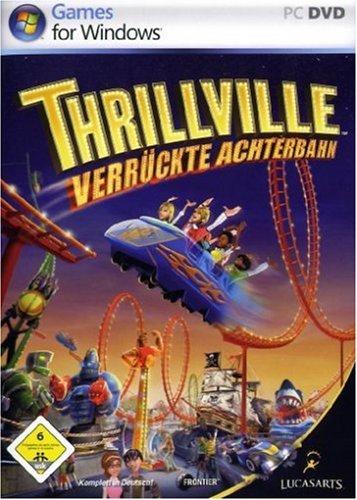Thrillville - Verrückte Achterbahn Deutsche  Texte, Untertitel, Menüs, Videos, Stimmen / Sprachausgabe Cover