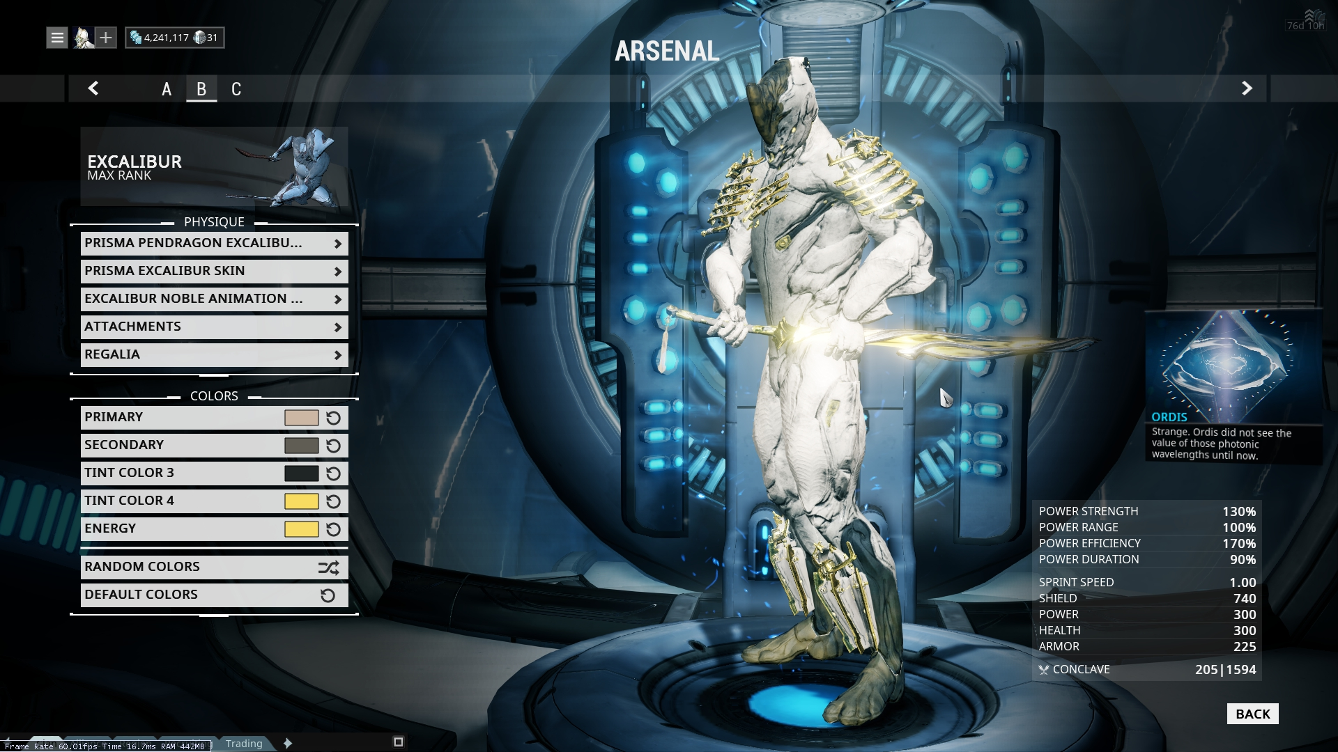 Prime-Y Look With Prisma Excalibur? - Players helping Players ...