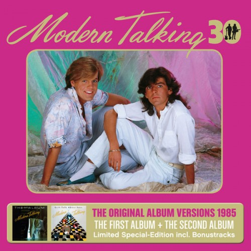 Modern Talking - The First & Second Album (30th Anniversary Edition 3CD) - 2015 8ehrqudy