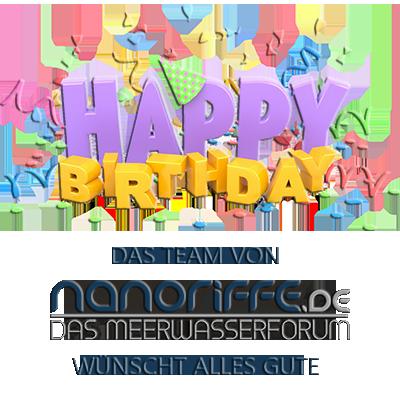 Happy Birthday Daniel Fotojager Nanoriffe De Gratuliert Dein