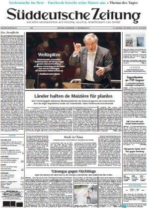 download Süddeutsche Zeitung vom 17 September 2015