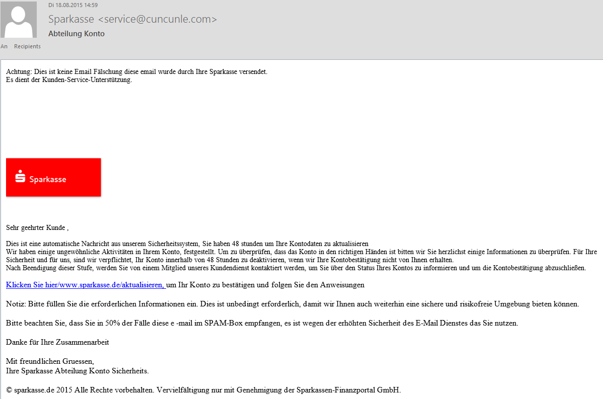 email spam achtung betr ger im netz youtube. Black Bedroom Furniture Sets. Home Design Ideas