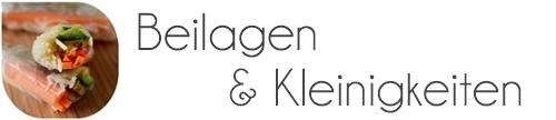 Beilagen & Snacks