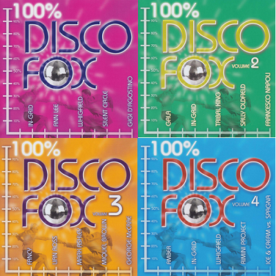 Disco Fox 100% - Vol. 1-4 (2015)