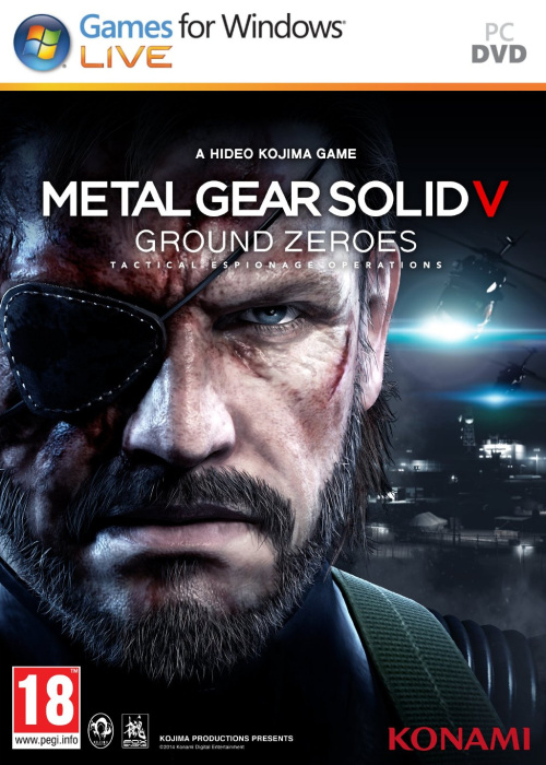 Metal Gear Solid V Ground Zeroes – CODEX