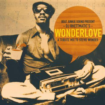 Wonderlove - A Tribute Mix to Stevie Wonder Mixed by Dj Rhettmatic