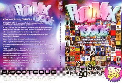 Pool Mix 1990's - DJ Pool (867 Songs, over 8 hours)
