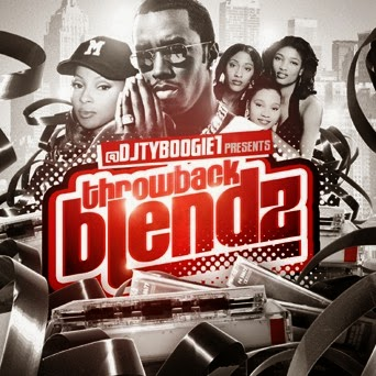 DJ TY BOOGIE - THROWBACK BLENDZ V1