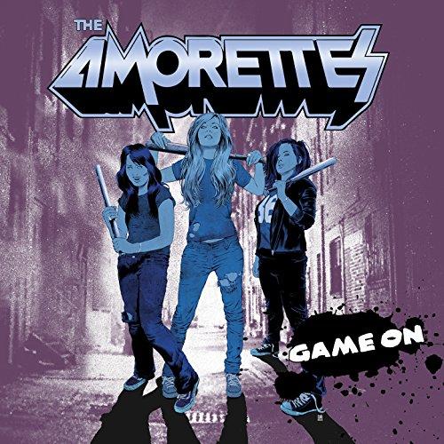 THE AMORETTES Game On (2015) Hard Rock Féminin Anglais 7xwajnbm