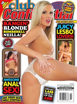 Club Confidential 12 Cover
