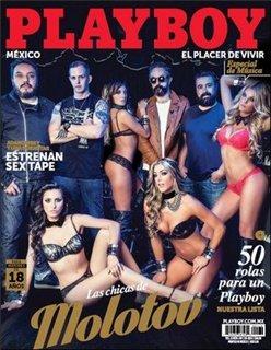 Playboy Mexico Las Chicas de Molotov Cover