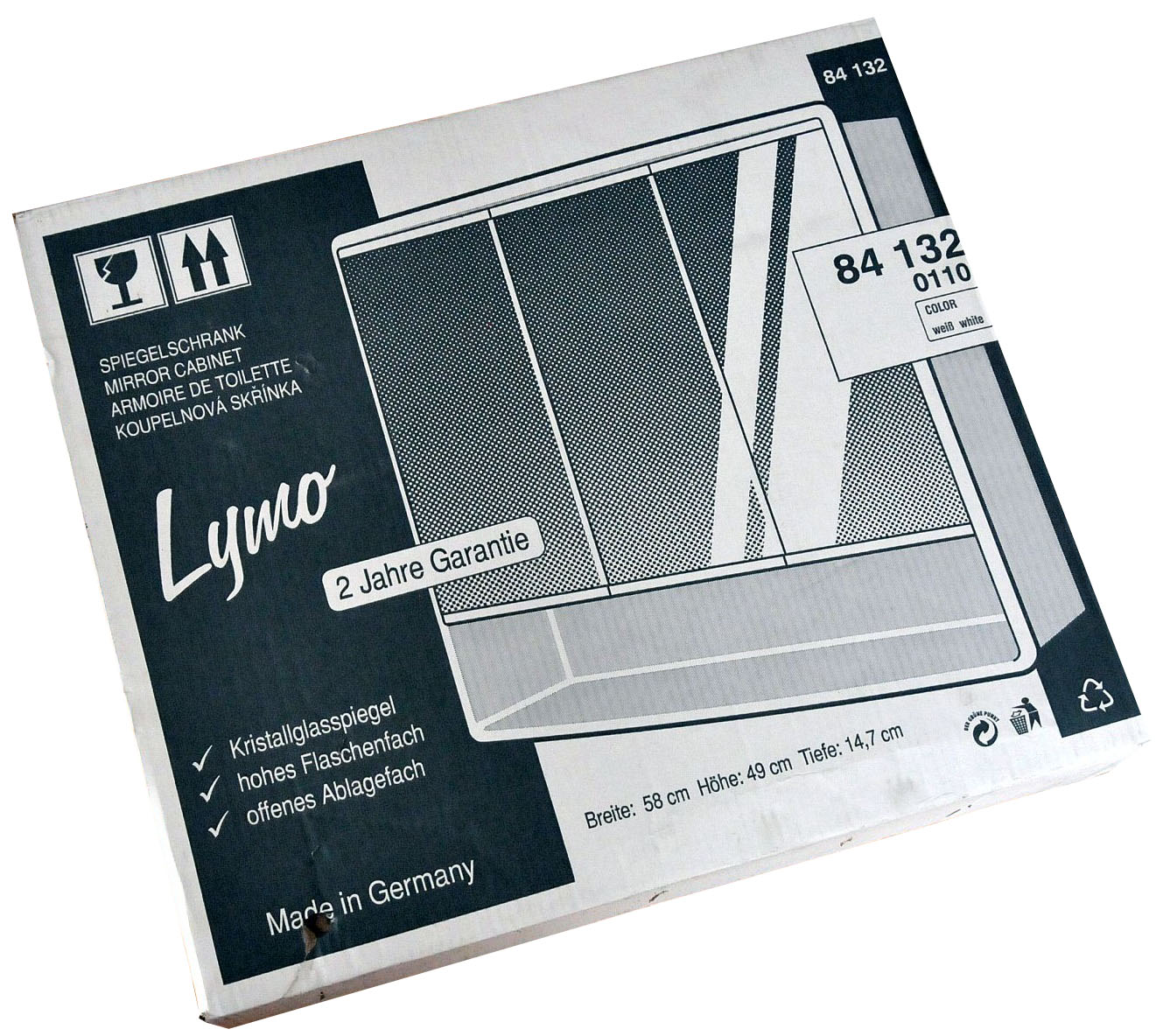 jokey spiegelschrank lymo wei 188413200 0110 pictures to pin on pinterest. Black Bedroom Furniture Sets. Home Design Ideas