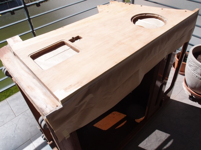 instandstellung seeburg hf100r teil 1. Black Bedroom Furniture Sets. Home Design Ideas