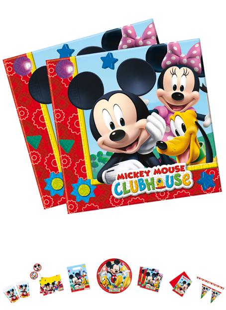 Mickey Mouse Servietten, 20 Stück, P81510