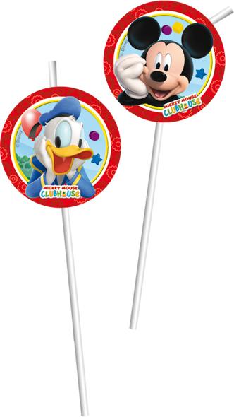 Mickey MouseTrinkhalme Medaillon P81520