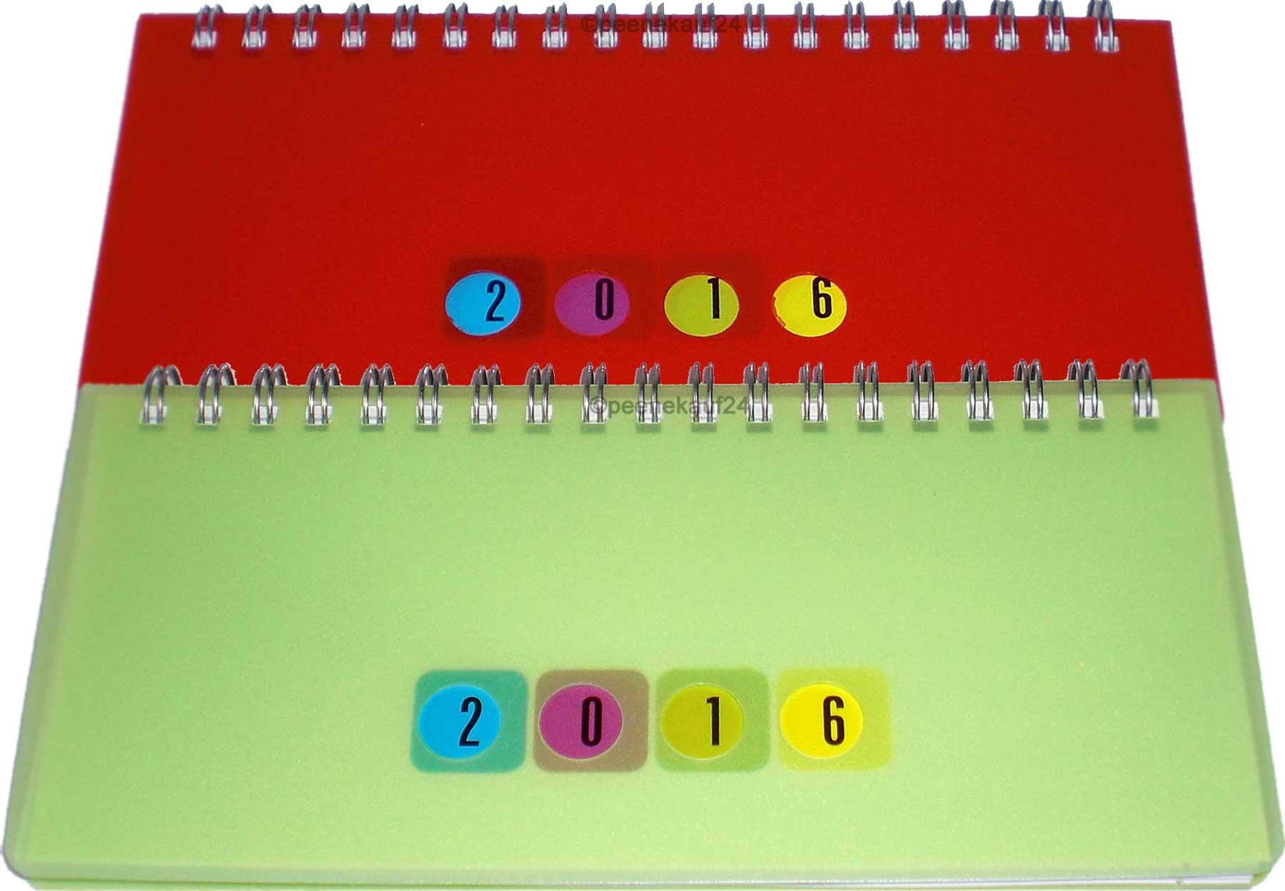 Schreibtischkalender celebration mini 17 5 x 8 5 cm 2016 1 for Schreibtisch querkalender