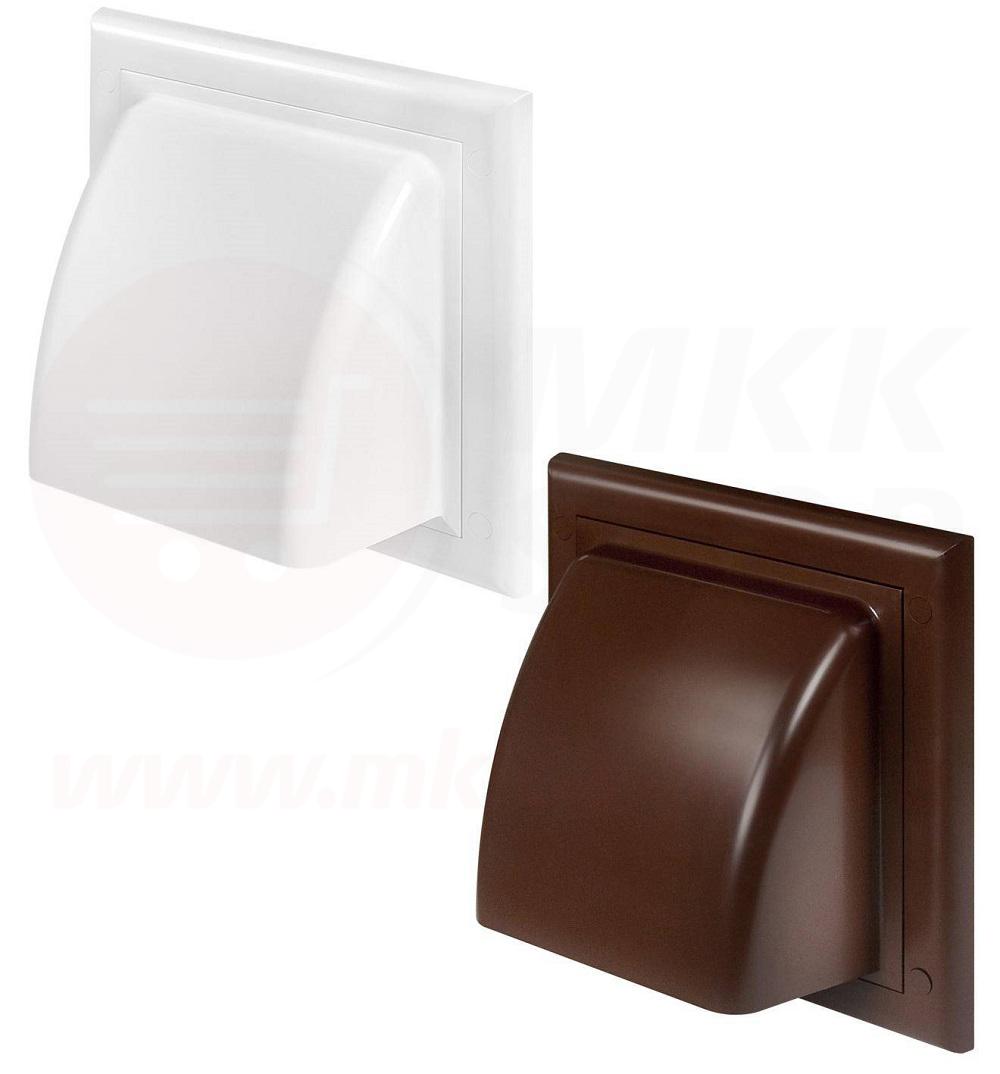 l ftungsgitter 100 125 mm abluft zuluft haube r ckstauklappe wetterschutz luft ebay. Black Bedroom Furniture Sets. Home Design Ideas