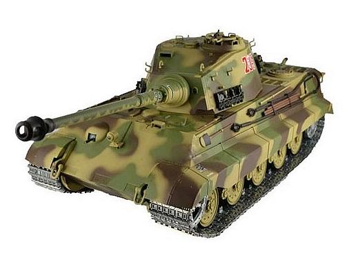 rc panzer k nigstiger mit henschel turm neueste 2 4ghz. Black Bedroom Furniture Sets. Home Design Ideas