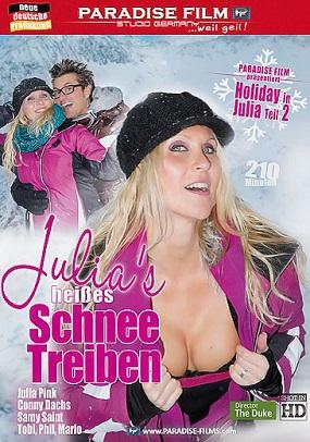 Julias Pink Heisses Schneetreiben German (720p) Cover
